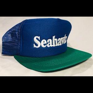 Vintage Seattle Seahawks new era SnapBack trucker